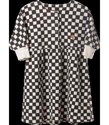 Bobo Choses Fleece Dress CHECKED Bobo Choses Fleece Jurk CHECKED
