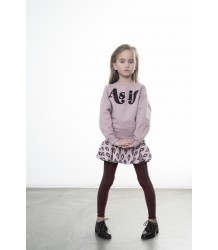 Ruby Tuesday Kids Xavier Stripe Tights Miss Ruby Tuesday Xavier Tights merlot red