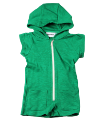 Mini Rodini French Terry S/L Onesie  Mini Rodini French Terry S/L Onesie