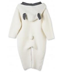 Stella McCartney Kids Acorn Knit All in One Suit Stella McCartney Kids Acorn Knit All in One Suit off-white