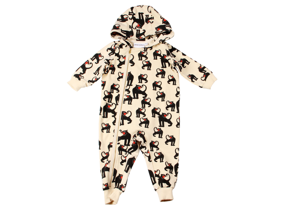 Sale - Panther Hooded Jumpsuit - Mini Rodini Mini Rodini 2018 New For Sale Clearance Genuine Discount Shop Offer Choice Cheap Store Ktt5k