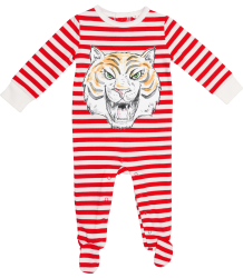Stella McCartney Kids Dewberry All-in-One TIGER FACE Stella McCartney Kids Dewberry All-in-One TIGER FACE