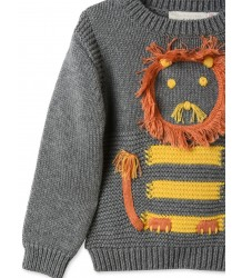 Stella McCartney Kids Ira Baby Jumper LION Stella McCartney Kids Ira Baby Jumper LION