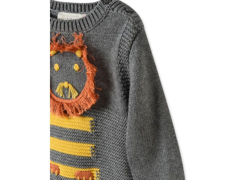 Stella McCartney Lion sweatshirt Cheap Discount Sale oTczRWUoCC