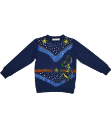 Stella McCartney Kids Betty Sweatshirt COWGIRL Stella McCartney Kids Betty Sweatshirt COWGIRL navy