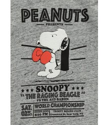 Finger in the Nose Neal Tee PEANUTS BOXING Finger in the Nose Neal Tee SNOOPY BOXING