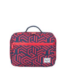 Herschel Pop Quiz Lunchbox Herschel Pop Quiz Lunchbox navy and red metric