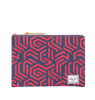 Herschel Network Pouch Large Herschel Network Pouch Large blue and red metric print