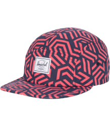 Herschel Glendale Cap Youth Herschel Glendale Cap Youth blue and red metric print