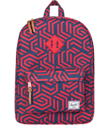 Herschel Heritage Youth Herschel Heritage Youth blue and red metric print