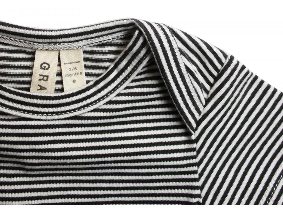 beca85f64 Gray Label Baby Onesie Striped - Orange Mayonnaise
