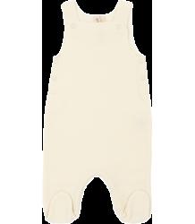 Gray Label Newborn Sleeveless Suit with Cardigan Gray Label Newborn Sleeveless Suit with Cardigan creme white