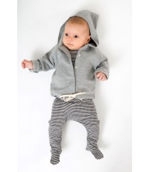 Gray Label Baby Hooded Cardigan Gray Label Baby Hooded Cardigan grey melange