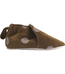 Tiny Cottons Leather Baby Shoes FACES Tiny Cottons Leather Baby Shoes FACES caramel brown