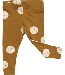 Tiny Cottons Jersey Pant FACES Tiny Cottons Jersey Pant FACES caramel brown