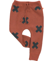 Tiny Cottons Knitted Pant Logo Tiny Cottons Knitted Pant Logo terracotta