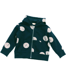 Tiny Cottons Fleece Hoody FACES Tiny Cottons Fleece Sweat hoody FACES navy