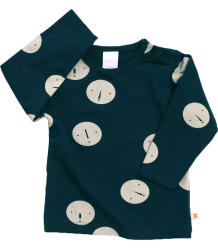 Tiny Cottons Tee Long Sleeve FACES Tiny Cottons Tee Long Sleeve FACES navy