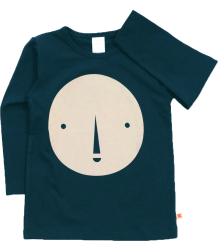Tiny Cottons Graphic Tee Long Sleeve ROUND FACE Tiny Cottons Graphic Tee Long Sleeve ROUND FACE navy