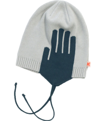 Tiny Cottons Chapka Knit WARM EARS Tiny Cottons Chapka Knit WARM EARS navy and soft blue