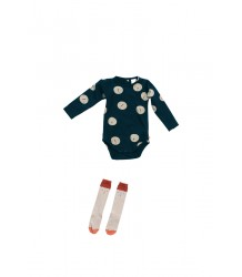 Tiny Cottons Long Sleeve Body FACES Tiny Cottons Long Sleeve Body FACES navy