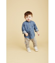 Soft Gallery Svend Denim Baby Shirt INDIANS AOP Soft Gallery Svend Denim Baby Shirt INDIANS AOP
