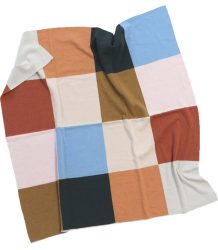 Tiny Cottons Knit Blanket COLOR BLOCK Tiny Cottons Knit Blanket COLOR BLOCK