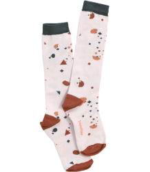 Tiny Cottons High Socks GEOMETRY CHAT Tiny Cottons High Socks GEOMETRY CHAT soft pink