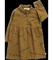 Tiny Cottons Shirt Dress MANY WORDS Tiny Cottons Blouse Jurk MANY WORDS