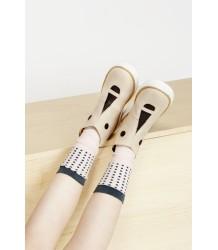 Tiny Cottons Face Boots Tiny Cottons Face Boots beige