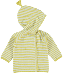 Kidscase Joy NB Cardigan Kidscase Joy NB Cardigan ocre yellow