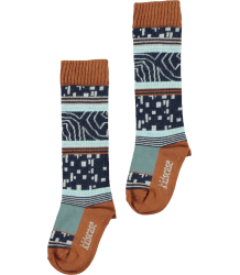 Kidscase Winter Organic Knee High  Kidscase Winter Organic Knee High dark blue