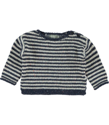 Kidscase Nat Striped Sweater Kidscase Nat Striped Sweater dark blue off-white