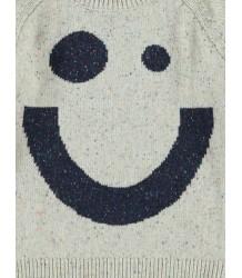 Kidscase Nat Alf Sweater Kidscase Nat Alf Sweater off-white melange