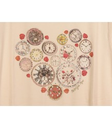 T-shirt Clocks Patrizia Pepe Girls T-shirt Clocks