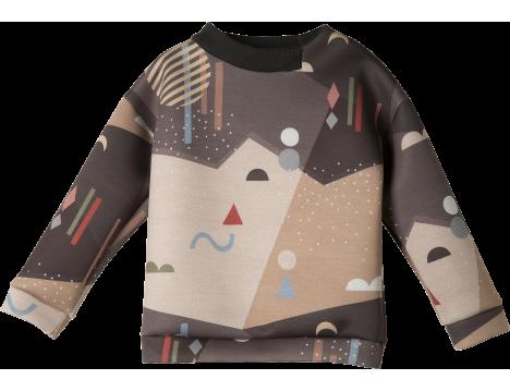 Ine de Haes Kobbe Scuba Sweater SCENARY