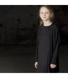 Ine de Haes Ana Drape Dress 3D Bear Ine de Haes Ana Drape Dress 3D Bear charcoal grey