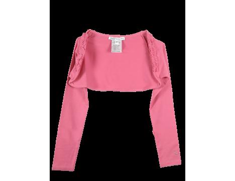 Patrizia Pepe Girls Short Jersey Cardigan