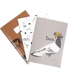 Emile et Ida Notebook - Set of 3 Emile et Ida Notebook - Set of 3