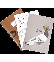 Emile et Ida Notebook - Set of 3 Emile et Ida Notebook - Set of 3