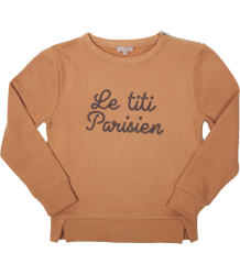Emile et Ida Sweat Top Zipper LE TITI Emile et Ida Sweat Top Zipper LE TITI PARISIEN
