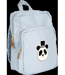 Mini Rodini PANDA Backpack Mini Rodini Panda Backpack light bLue