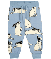 Mini Rodini Sweatpants RABBIT Mini Rodini Sweatpants RABBIT light blauw