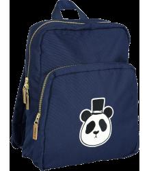 Mini Rodini PANDA Backpack Mini Rodini Panda Backpack dark blue