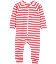 Mini Rodini Stripe Rib LL Body Mini Rodini Stripe Rib LL Body pink