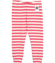 Mini Rodini Stripe Rib Leggings Mini Rodini Stripe Rib Leggings pink