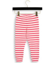 Mini Rodini Stripe Rib Leggings Mini Rodini Stripe Rib Leggings pink