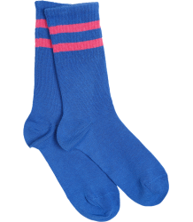 Mini Rodini Stripe Sock  Mini Rodini Stripe Sock blue and pink