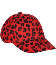 Mini Rodini LUIPAARD Cap Mini Rodini LUIPAARD Cap red