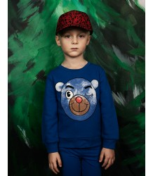 Mini Rodini Sweatshirt BEAR Mini Rodini Sweatshirt BEAR